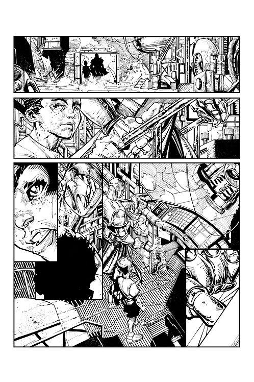 Spellbound #1, Page 15 - Inks