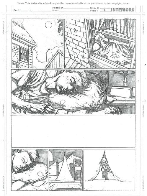 Spellbound #1, Page 04 - Pencils