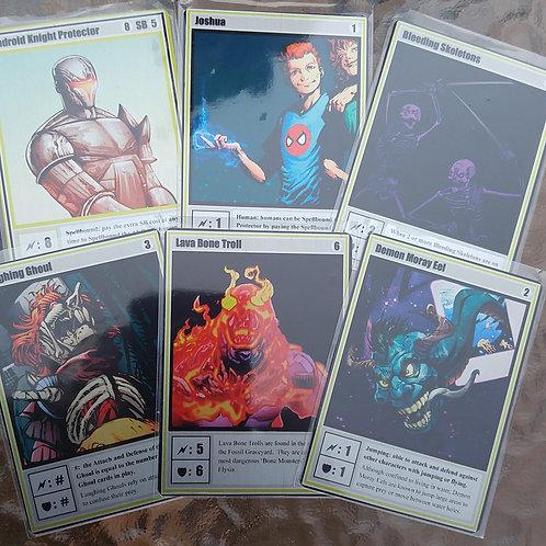 Spellbound Metal Trading Card Set