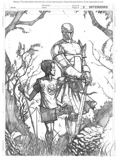 Spellbound #1, Page 08 - Pencils