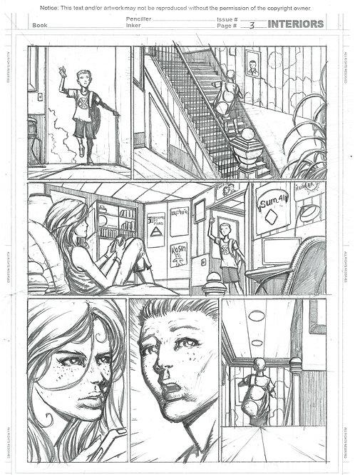 Spellbound #1, Page 03- Pencils