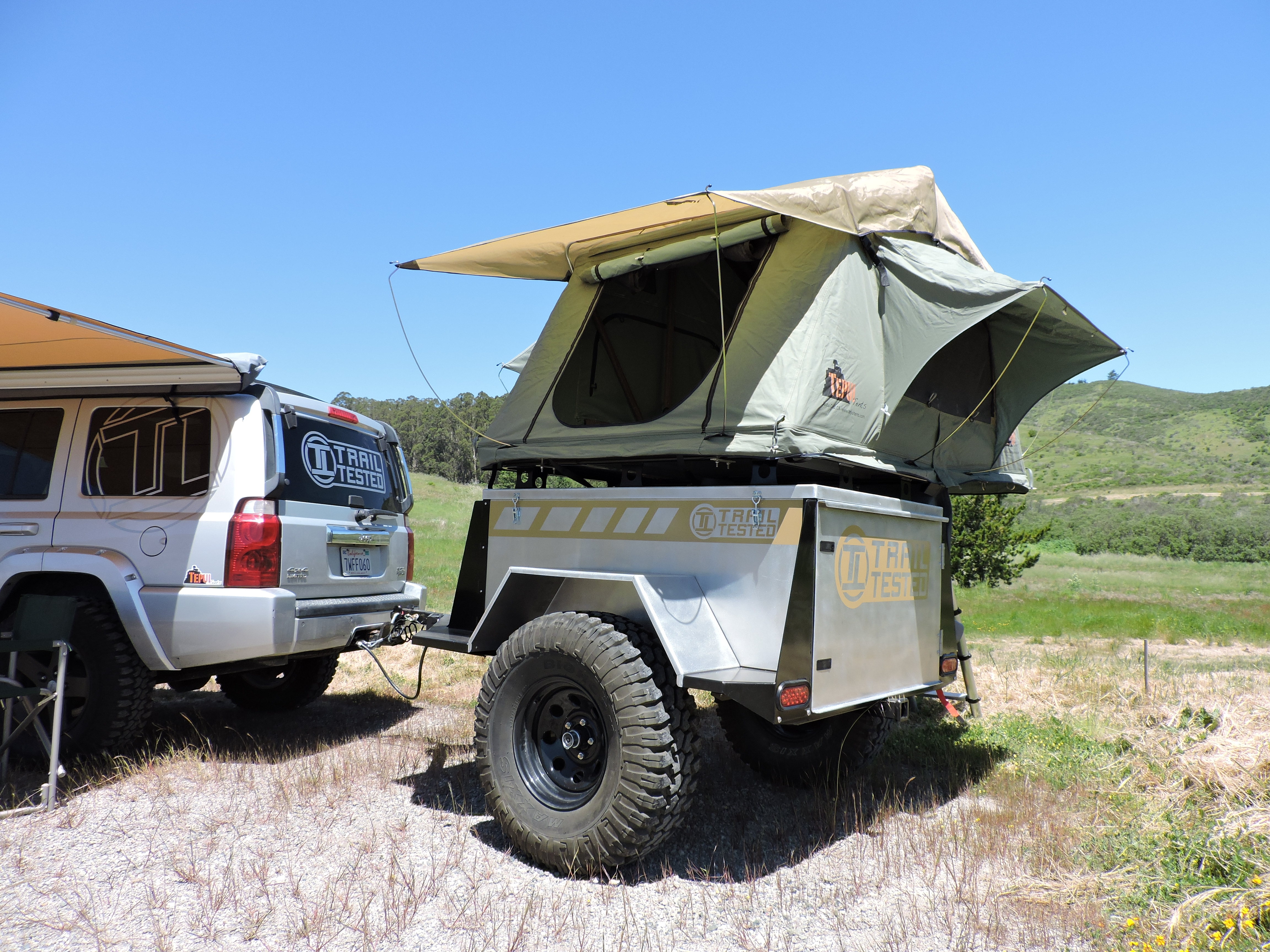 Offroad Trailer Tepui Tent