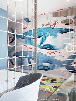 дизайн інтер'єру дитячої кімнати
