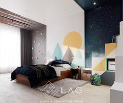 дизайн інтер'єру дитячої кімнати для хлопчика