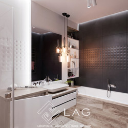 дизайн інтер'єру ванної кімнати
