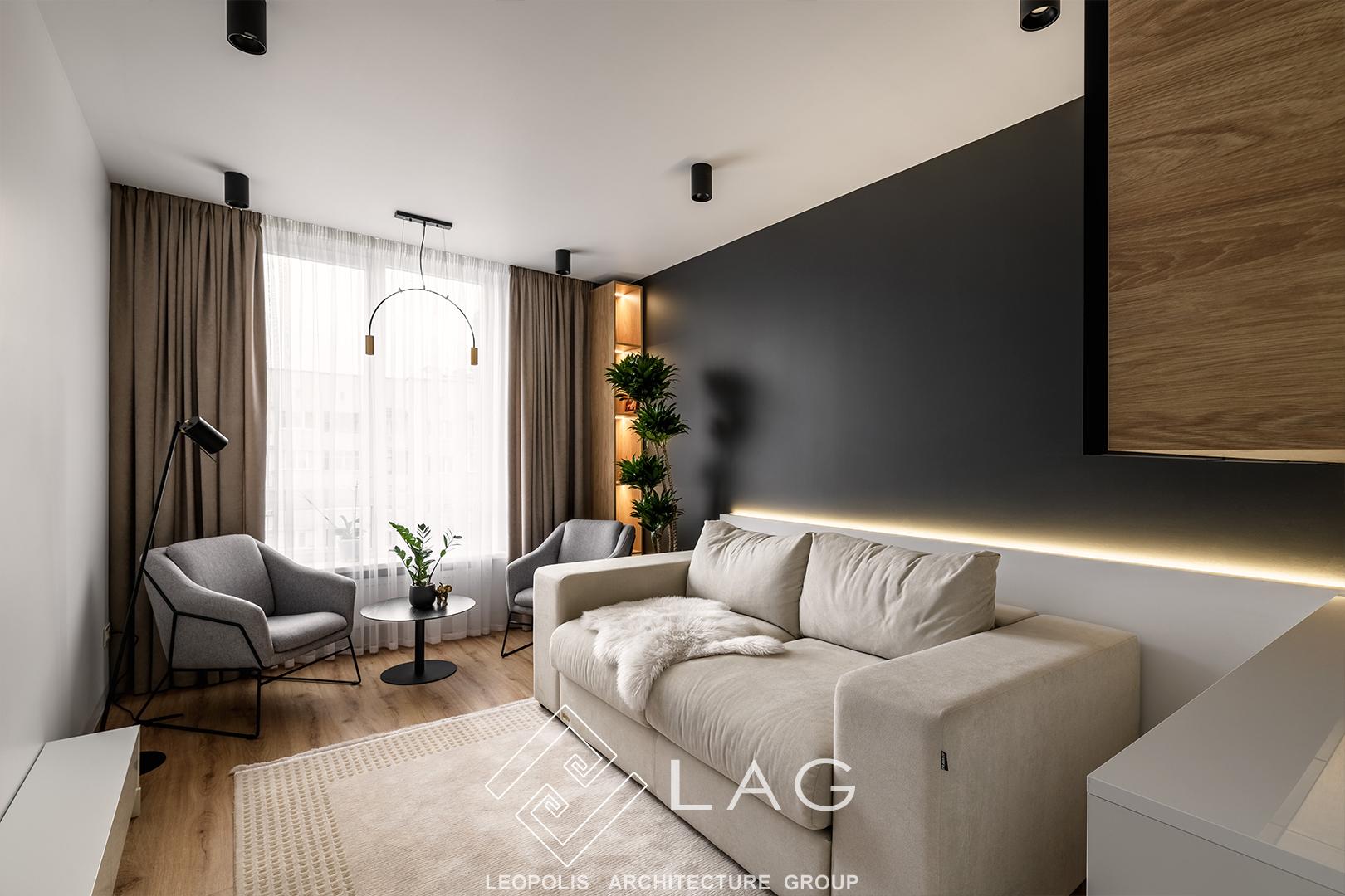 дизайн інтер'єру гостьової кімнати