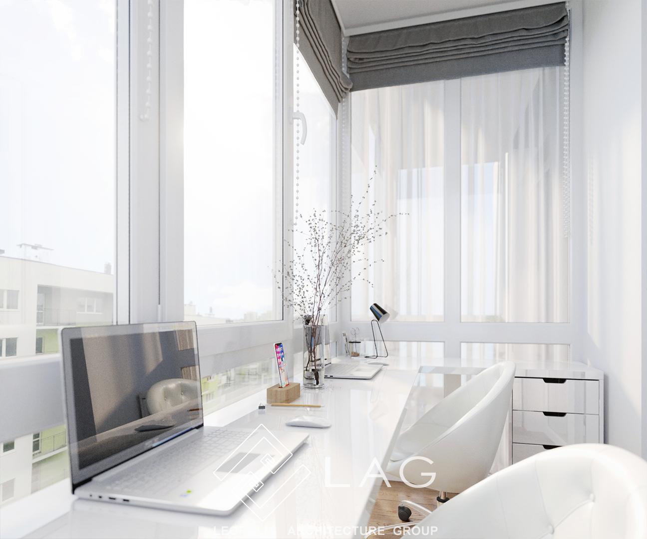 дизайн інтер'єру робочого простору