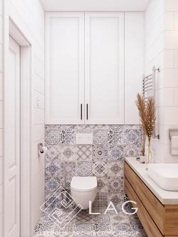 дизайн інтер'єру ванної кімнатийн інтер'єру вбиральні