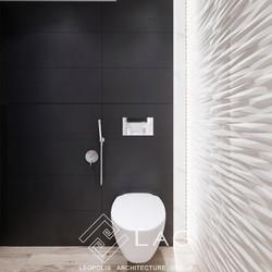 дизайн інтер'єру вбиральні