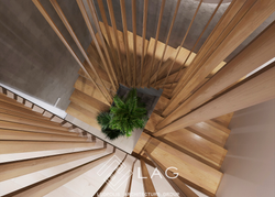 дизайн інтер'єру сходів