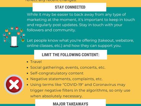 Adapting Social Media Strategy for COVID-19