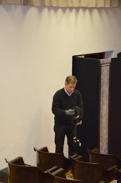 Paolo Conti (tecnico suono e luci)