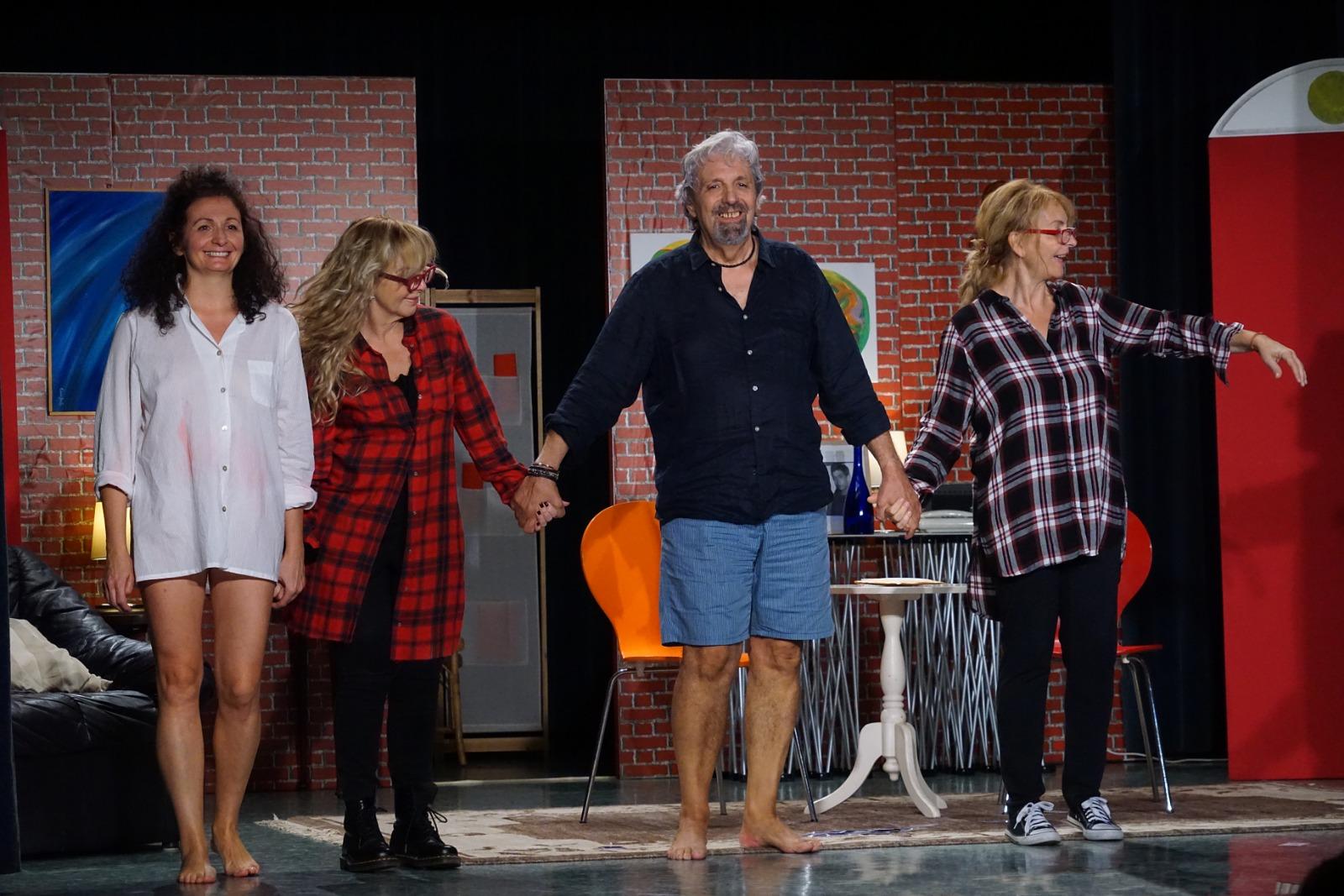 Laura, Mariella, Fausto, Brunella