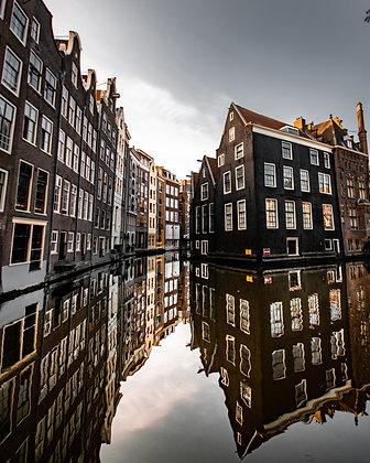 Amsterdam mirror | Poster