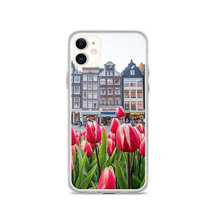 Tulips in Amsterdam iPhone Case