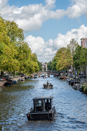 Postcard Canal Boats