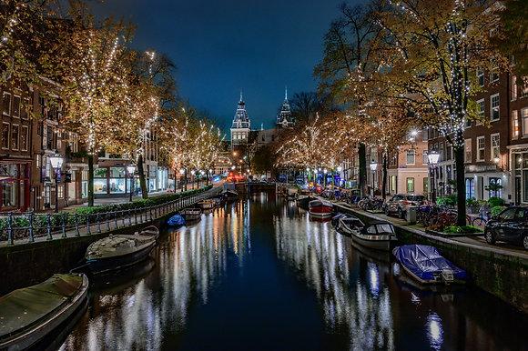Rijksmuseum at night | Aluminum