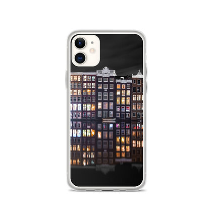 Damrak at Night II iPhone Case