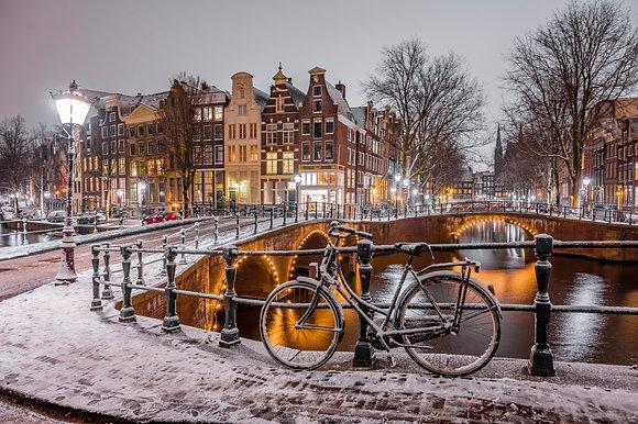 Postcard Snow Magic