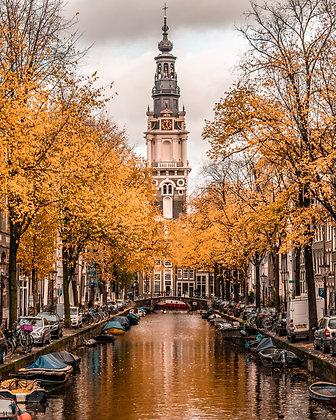 Postcard Autumn Groenburgwal