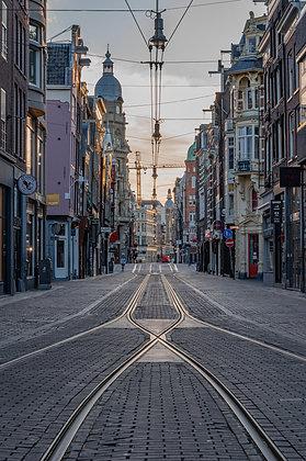 Empty Leidsestraat | Aluminum