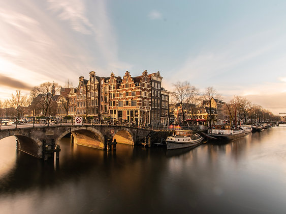 Sunny Brouwersgracht | Poster