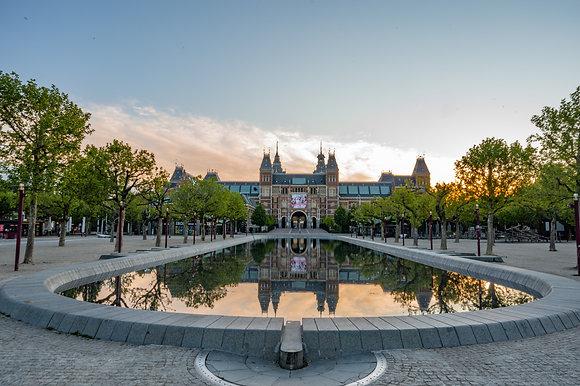 Rijksmuseum sunrise | Poster