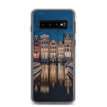 Damrak at Night Samsung Case