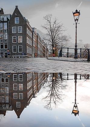 Amsterdam puddles | Aluminum