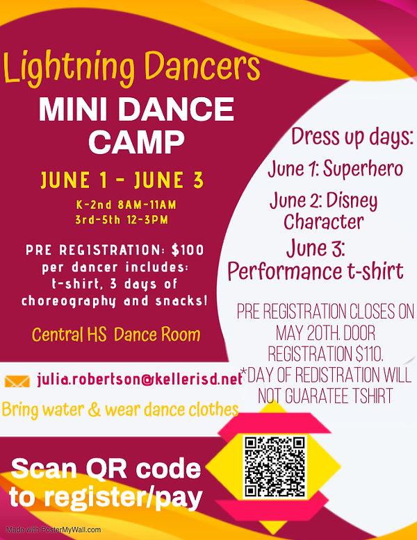 Copy of SUMMER CAMP Flyer Template - Mad