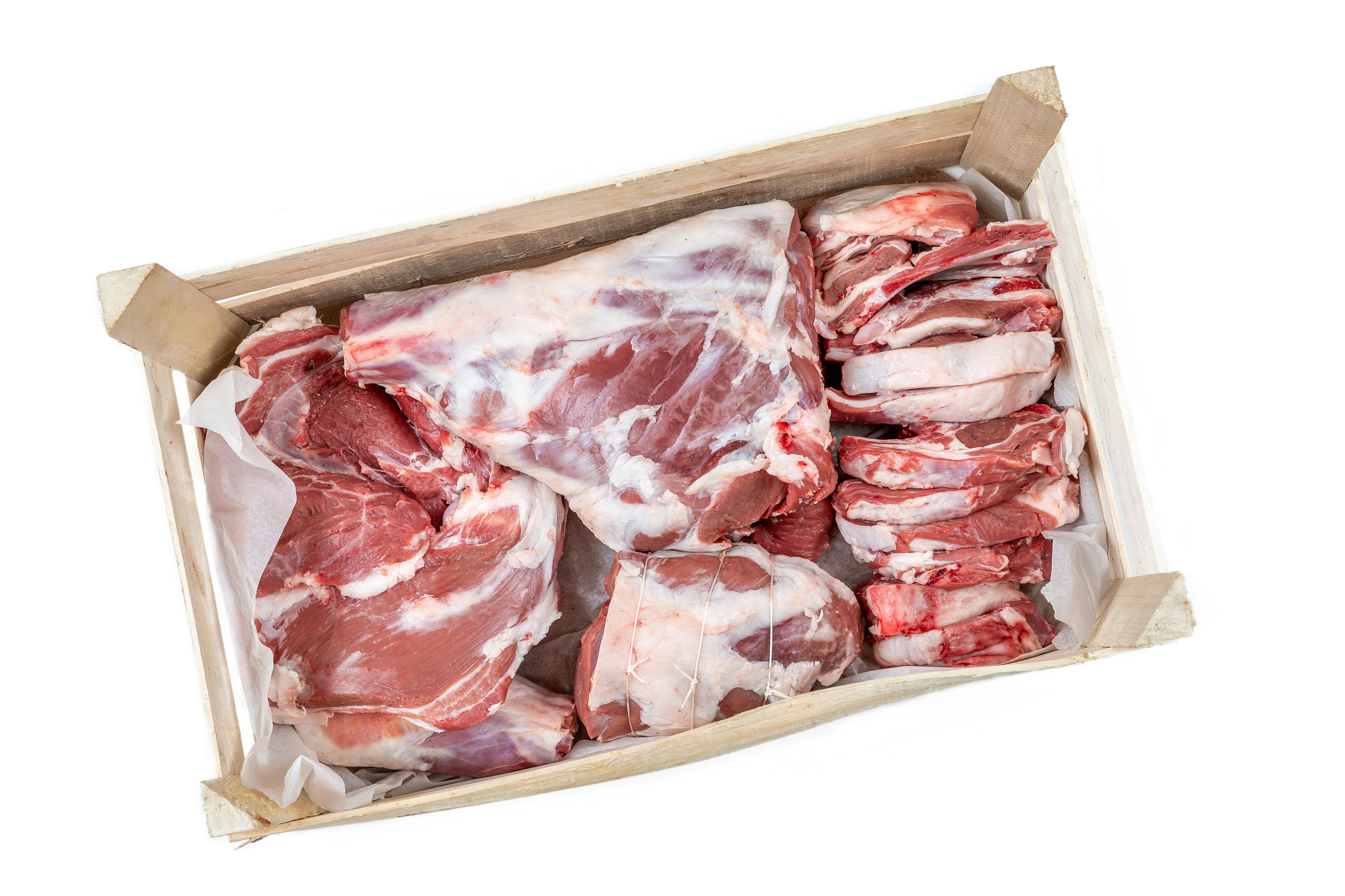 Half Salt Marsh Lamb Box