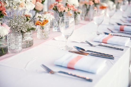 Set de table de mariage