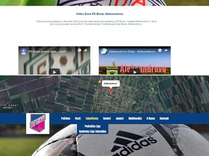 Borčev sajt ponovo na internetu