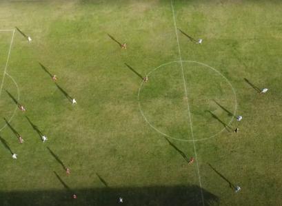 FK Borac iz ptičje perspektive