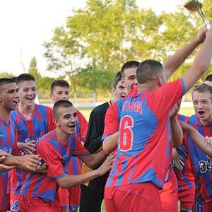 Proslava titelu kadeta FK Borac