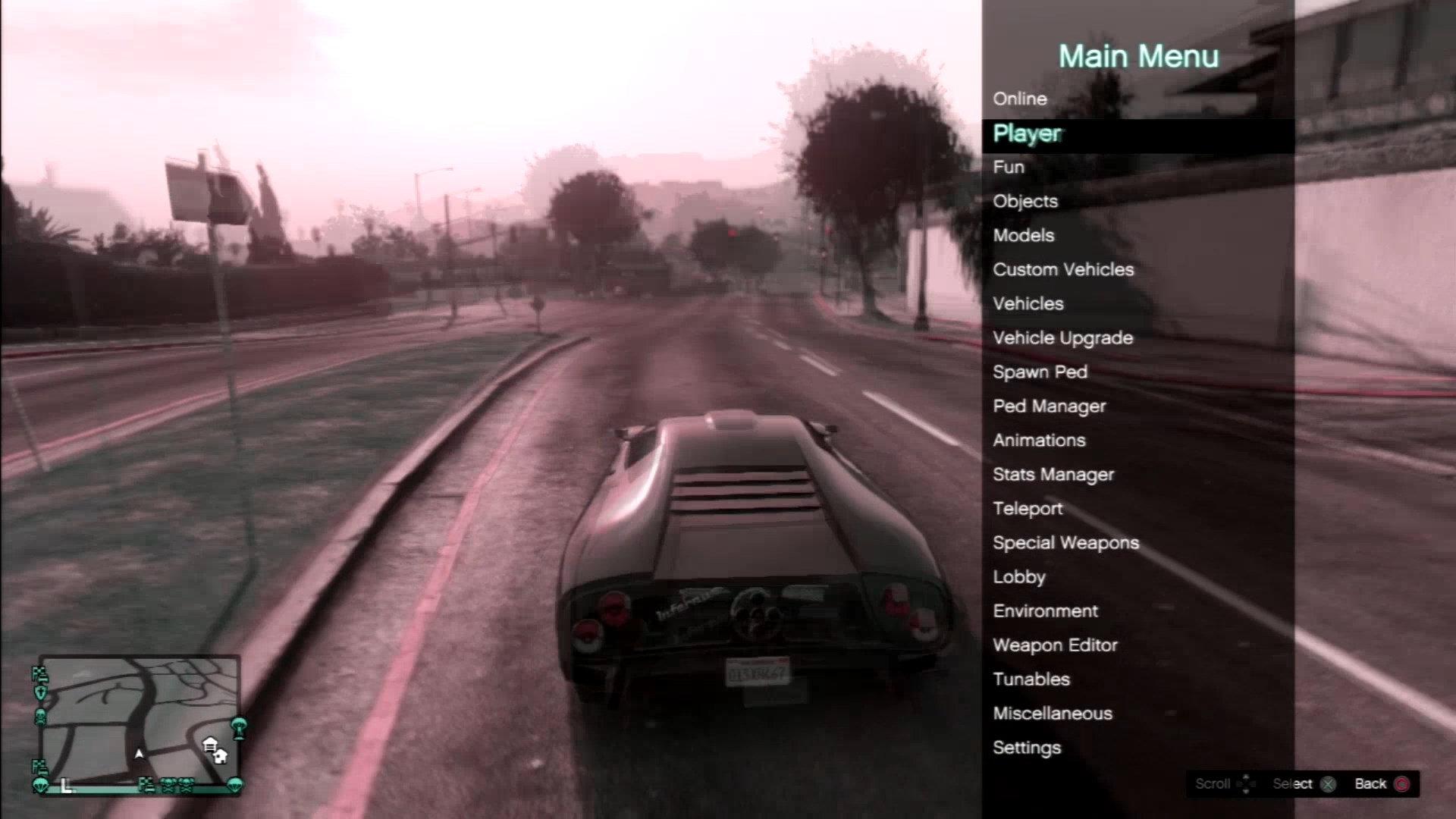 Grand Theft Auto V Mod Menus