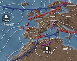 Mapas Del Tiempo Isobaras Borrasca Y Anticiclon Info