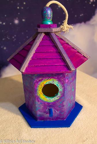 Metallic Birdhouse