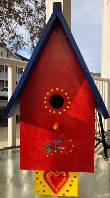 Gingers birdhouse II