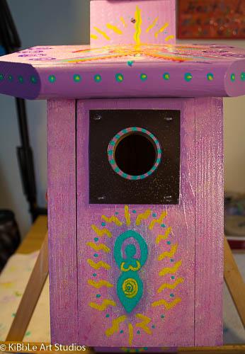 The Goddess Birdhouse