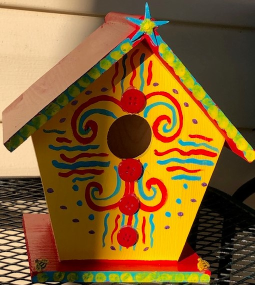 Laurie's bird house