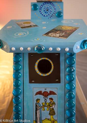Whimsical Tarot Birdhouse