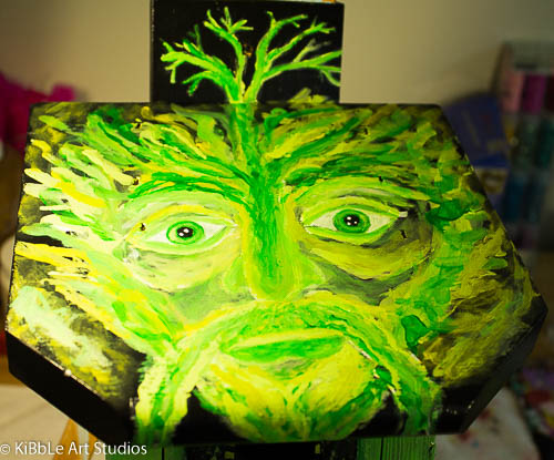 The Green Man Birdhouse
