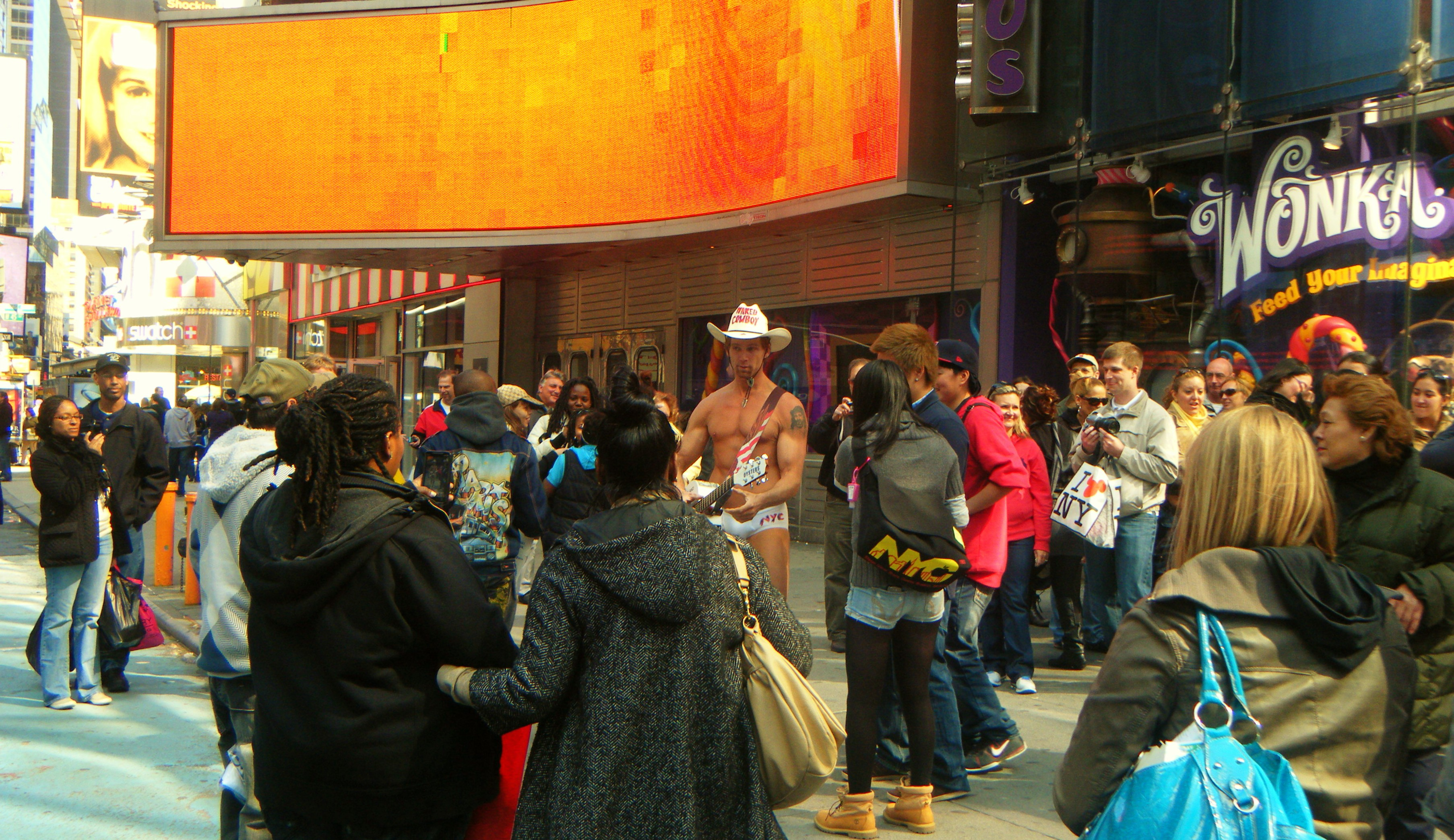 Naked Cowboy in NYC  [2011]