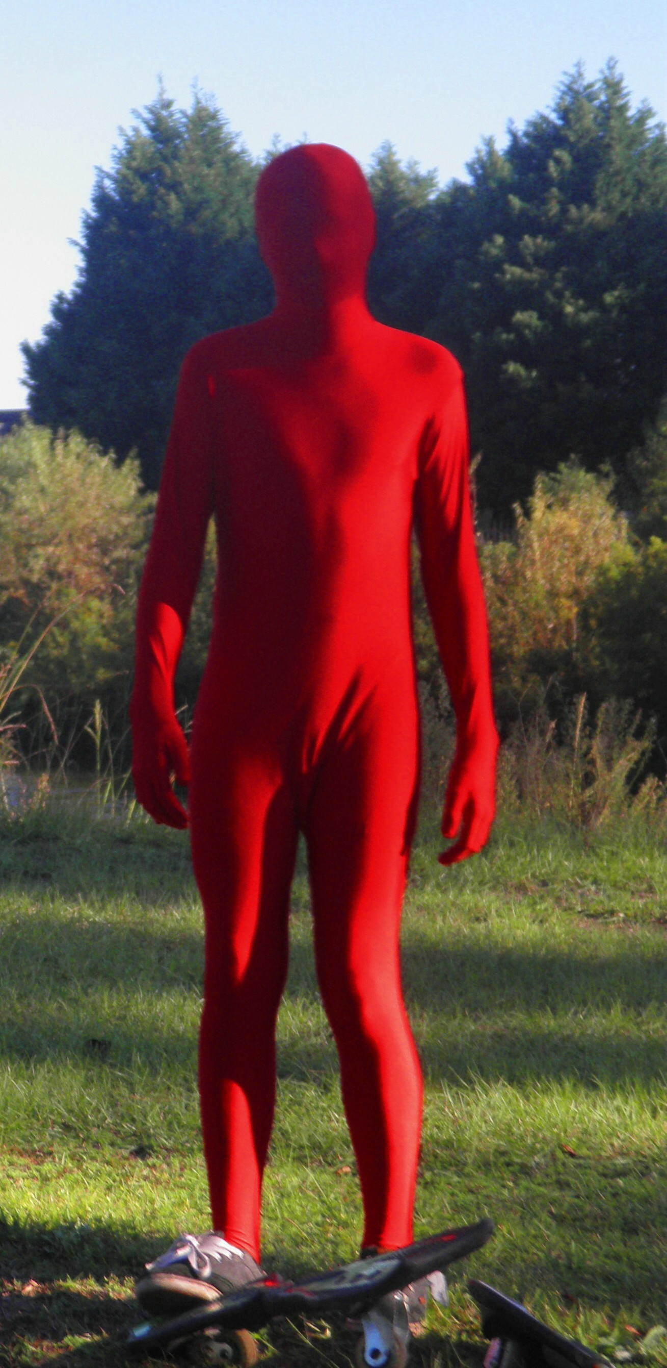 Red Man Skate Boarding