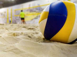 Beach Summer Volleyball Training
