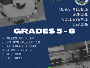 Middle School Volleyball League