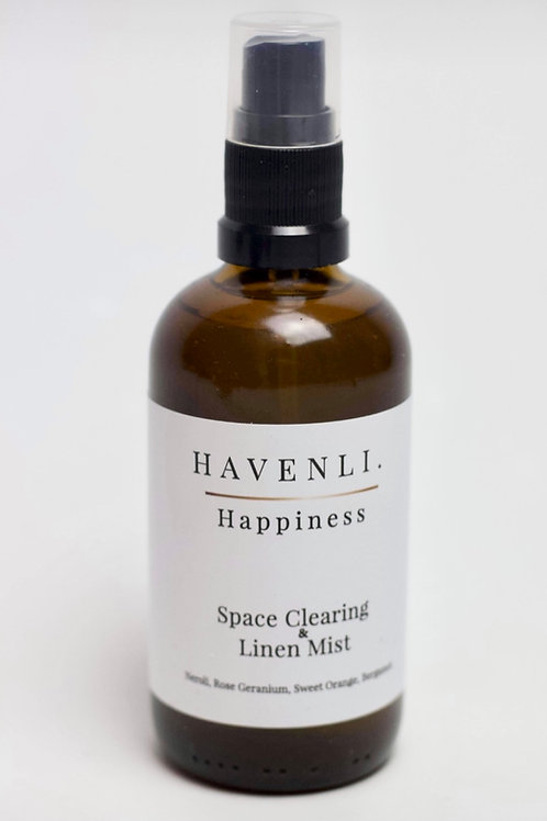Space Clearing & Linen Mist