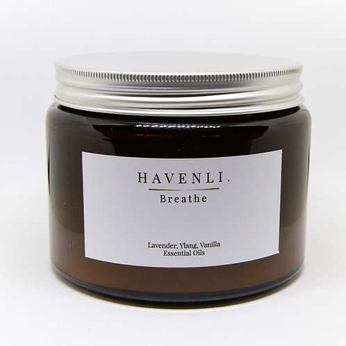 Luxury 3 Wick 500g Apothecary Candle