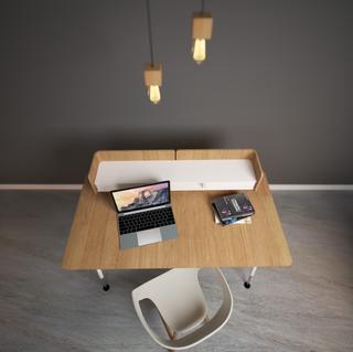 Designtafel en stoel